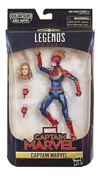 Figure Articulado Capitain Capitã Marvel Legends Series