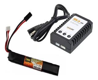 Pack Cargador Bateria Lipo 7.4v Bateria Lipo 11.1v Airsoft