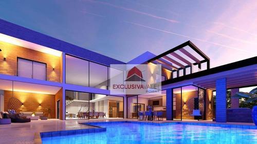 Casa Com 4 Dormitórios À Venda, 450 M² Por R$ 3.500.000,00 - Urbanova - São José Dos Campos/sp - Ca0883