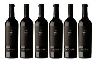 Vino Alma Negra Tinto Caja 6 Botellas 750ml.