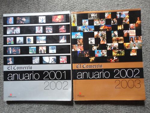 Anuario 2001-2002 Y 2002-2003 El Comercio Cch