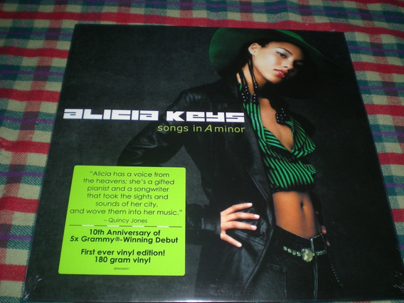 Alicia Keys / Song In A Minor 2 Lp Made In Eu