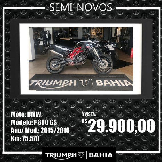 Bmw - F800 Gs. 2015/2016