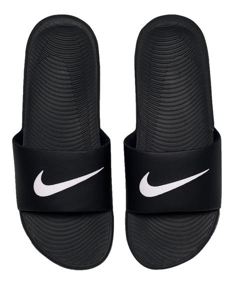Chinelo Sandália Nike Kawa Slide 832646-010 Preto