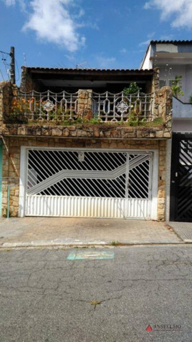 Sobrado À Venda, 234 M² Por R$ 560.000,00 - Jardim Santo Ignácio - São Bernardo Do Campo/sp - So0974