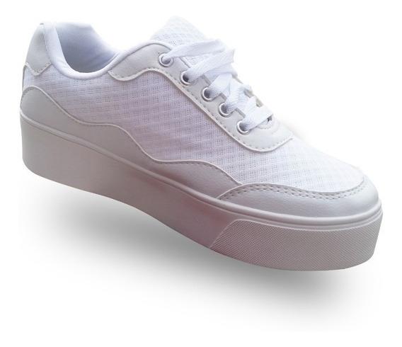 Tênis Branco Flat/super Confortável Feito Para Você