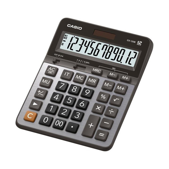 Calculadora De Escritorio Casio Gx-120b