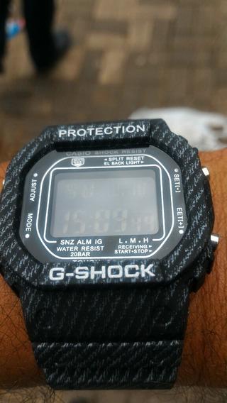 Casio Shock Visor Escuro