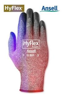 Guantes Anticorte Ansell Hyflex® 11-801 El Par #9 El Mejor!!