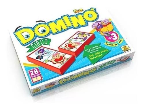 Juego De Mesa Domino Circo Implas