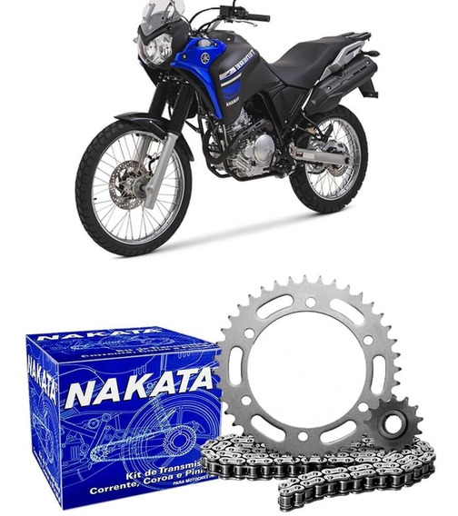 Kit Relação Transmissão Moto Yamaha Xtz 250 Tenere 2011 2015