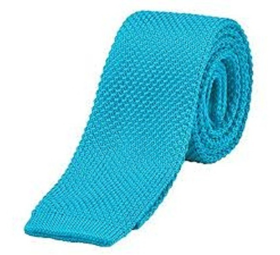 Corbata Tejida Fina Caballero Varios Colores Mejor Precio