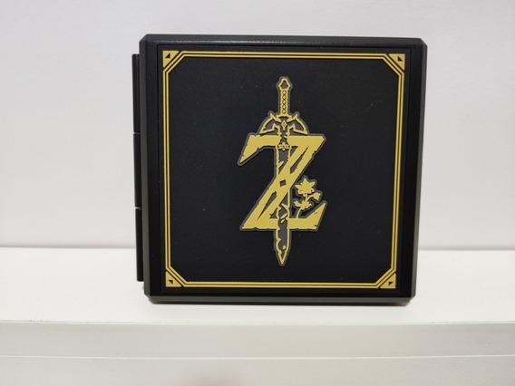 Game Case Card Para 12 Jogos Nintendo Switch Zelda