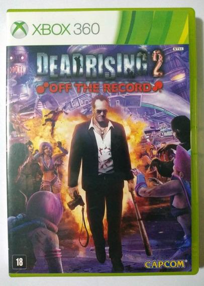 Dead Rising 2 Off The Record Xbox 360 Mídia Física