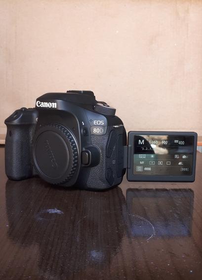 Canon 80d 24.2mp (corpo) * Leia O Anuncio*