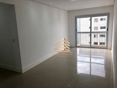 Apartamento Com 3 Dormitórios À Venda, 72 M² Por R$ 367.000,00 - Camargos - Guarulhos/sp - Ap1193