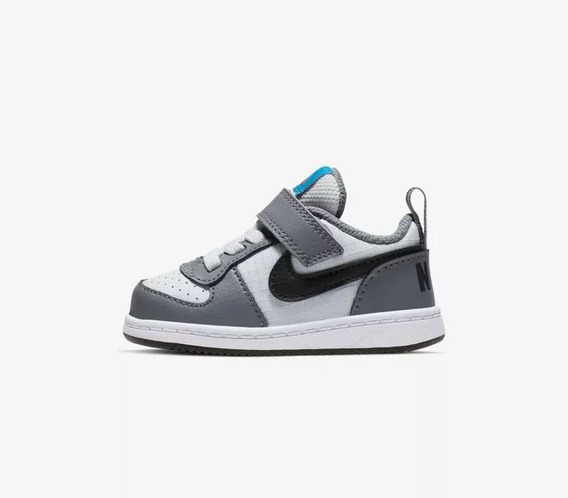 Tenis Nike Bebe Court Borough Casual Comodo Ligero Original