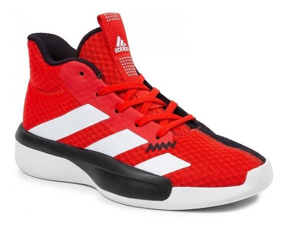 Tenis adidas Pro Next 2019 Jr Ef0855 Rojo Básquet Junior Unisex