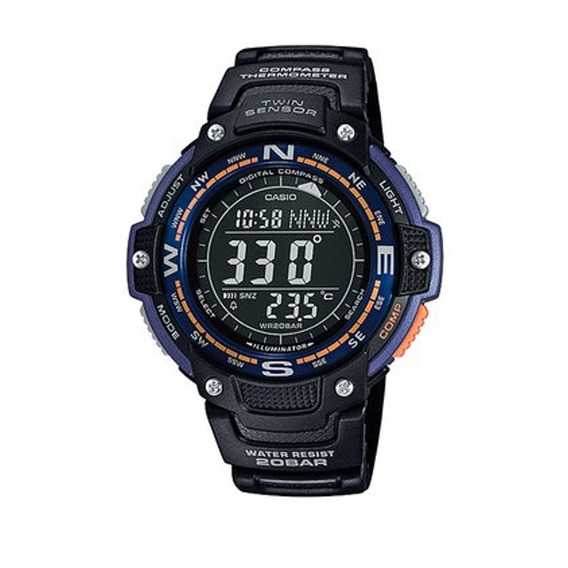 Modelo Varon Reloj Casio Sgw-100-2bcf Sport Gear Collection