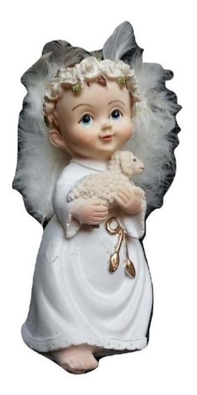 Figura De Resina Angel Para Recuerdo Bautizo, 20 Piezas
