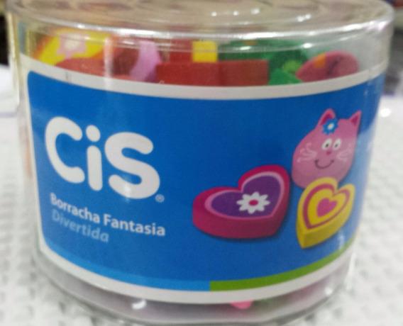 Borracha Cis Fantasia Divertida Sertic Pote C/48 Borrachas.