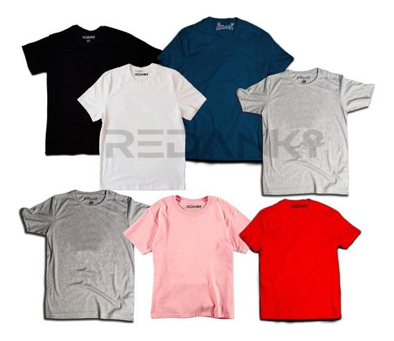 Camiseta Lisa Para Estampar Por Mayor Algodon Peinado Hombre
