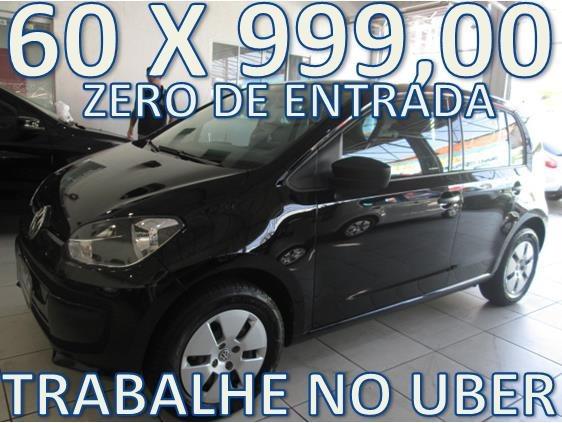 Volkswagen Up Completo Zero De Entrada + 60 X 999,00 Fixas
