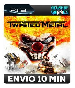Twisted Metal - Remasterizado Em Hd - Psn Ps3 - Promoção