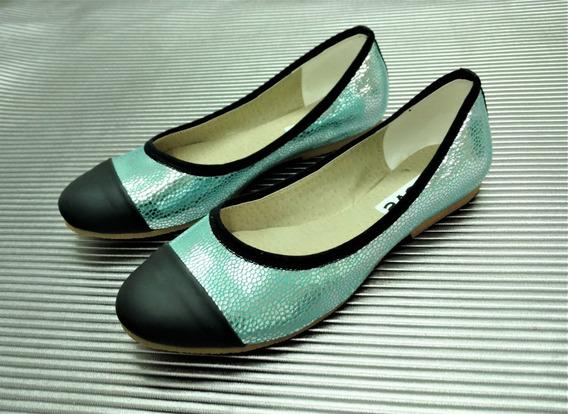 Zapatos Chatitas Chatas Balerinas Mujer