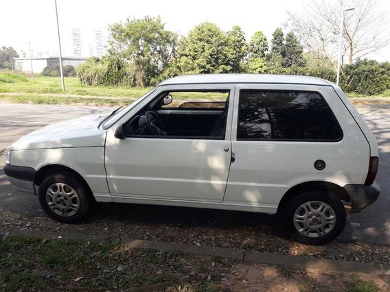 Fiat Uno 2013 Economy 1.0 8v Flex Branco Impecável