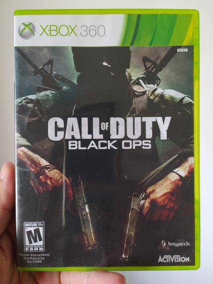 Jogo Call Of Duty Black Ops 1 Original Mídia Física Xbox 360