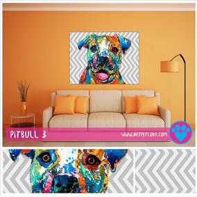Cuadro Art Pet Love - Pitbull 3.