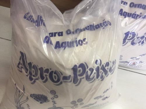 Cascalho, Pedras De Rio Ou Areia Fina P/ Aquarios Saco 25kg
