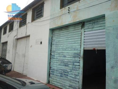 Imagem 1 de 6 de Barracão Para Alugar, 45 M² Por R$ 1.000,00/mês - Jardim Novo Campos Elíseos - Campinas/sp - Ba0058