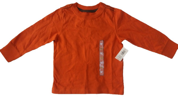 Camiseta Manga Longa Bebê Old Navy - Tamanho 18-24 Meses