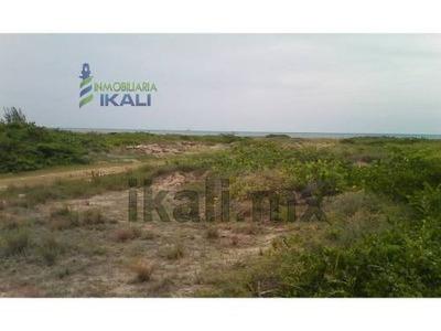 Venta De Terreno 1 A 7 Hectáreas Playa Tamiahua Veracruz. Terreno En Venta Ubicado Frente A La Playa De Tamiahua Veracruz, De Frente Cuenta Con Una Superficie Plana De 360 Metros Y De Profundidad 20
