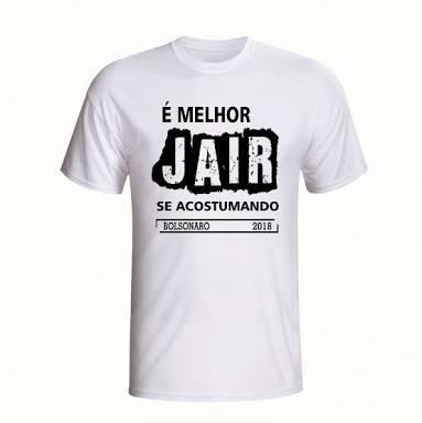 Camisas Bolsonaro 2018 Varios Tamanhos