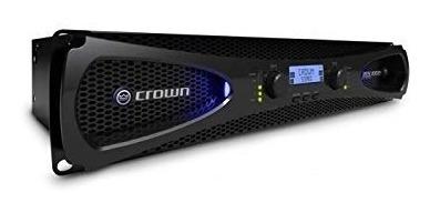 Amplificador De Áudio Profissional Crown Xls 1502 Rev Ofic