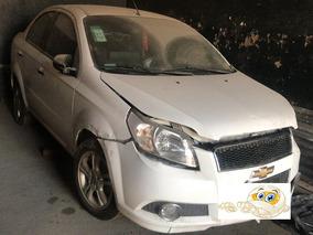 Chevrolet Aveo 1.6 Lt Modelo: 2011 Chocado Con Alta De Motor