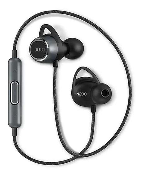 Fone Estéreo Bluetooth In Ear Akg N200 Preto