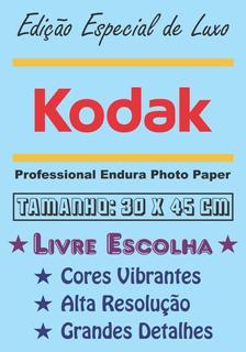 Pôster Cartaz Foto Kodak Personalizado Livre Escolha 30x45cm