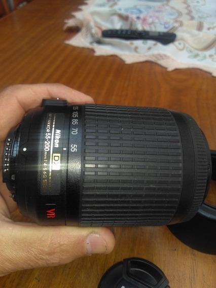 Lente Nikon 55-200 Afs. G Ed F-4-5.6 Vr