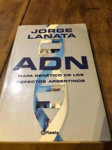 Libro adn Jorge Lanata