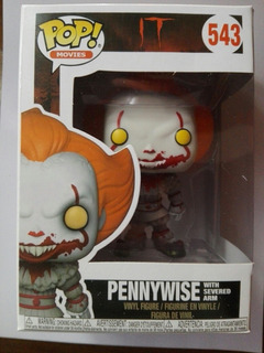 Funko Pop It Pennywese With Severed Arm Figura De Vinilo 543