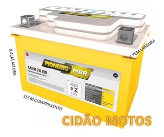Bateria De Moto Suzuki 125 Burgman / Mirage 150 Kasinski