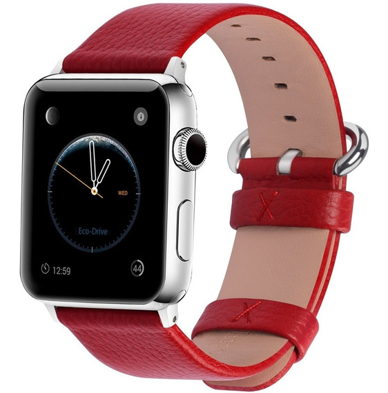 Correa Fullmosa Para Apple Watch Series 1 Y 2 42mm -rojo