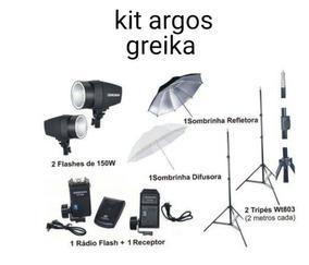 Kit Iluminação Argos Greika