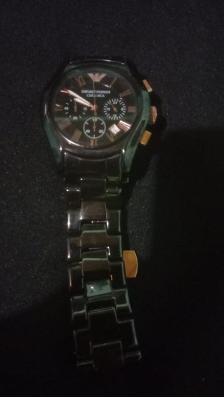 Relógio Empório Armani Ar1410 Ceramica Preto