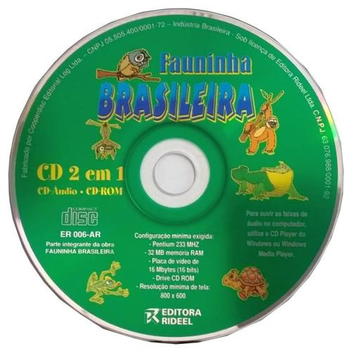 Cd Original 2 Em 1 Fauninha Brasileira