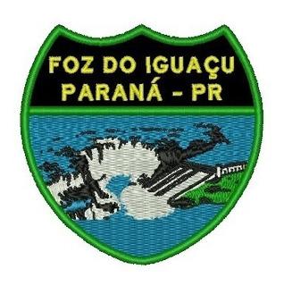 Patch Bordado Foz Do Iguaçu Pr (paraná)